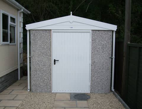 Concrete Shed Grey