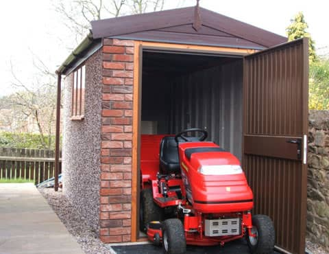 Concrete Shed Mower