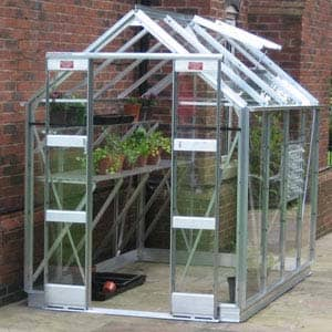 greenhouse with side doors