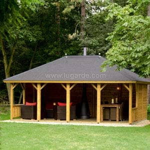 large open Gazebo Ibiza