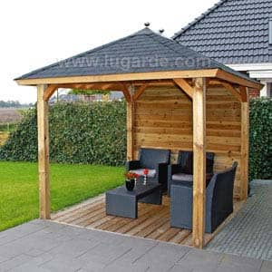 Gazebo Sophia with seating