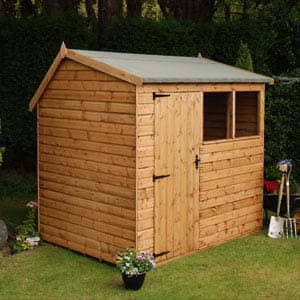 Apex Pent Shed