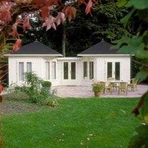 combination summerhouse
