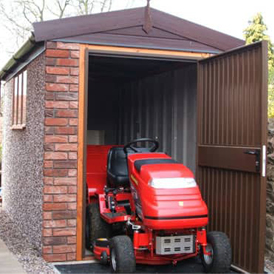 Concrete Shed