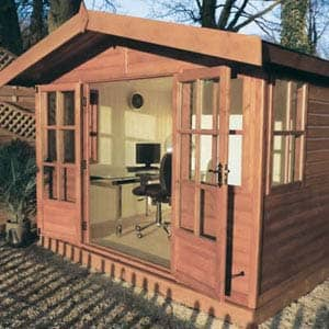 gapex summerhouse in brown