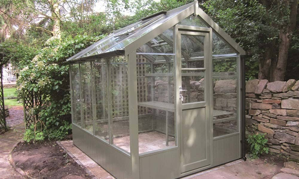 Wooden & Metal Greenhouses