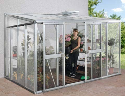 Helena Greenhouse with plants inside