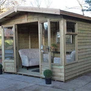 highley summerhouse furnished