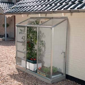 Ida With Polycarbonate greenhouse