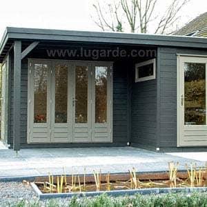 linda log cabin