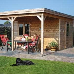 lucas log cabin