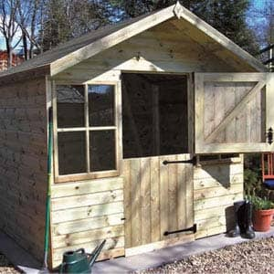 Ludlow Shed for garden