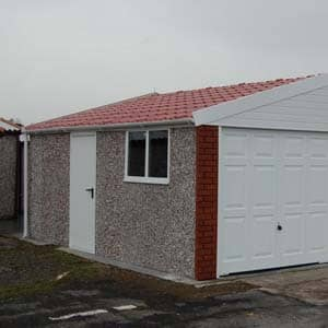 large Monarch Medium garage