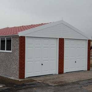 Monarch Medium Front double concrete garage