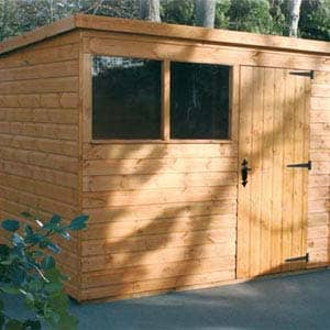 notton shed in garden