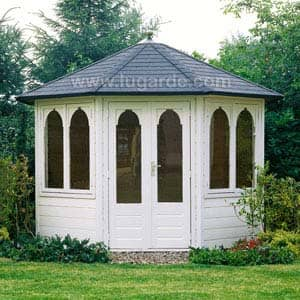 carolien Summerhouse in garden