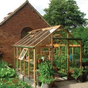 greenhouse with plants inside
