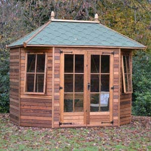 furnished richmond summerhouse in garden
