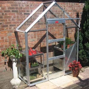 R type Lean To greenhouse
