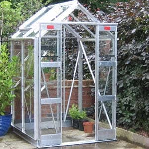 Small Greenhouse with plants inside