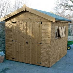 supreme shed for garden