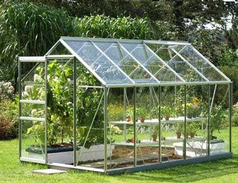 Venus Greenhouse on sunny day