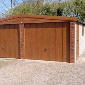 Woodthorpe Apex Double garage